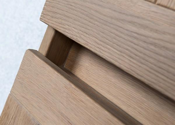 massief houten badmeubel Victoria greeplijst
